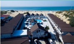 """Отель """"Белый пляж"""" в Анапе на берегу моря с бассейном все включено отдых с детьми"""