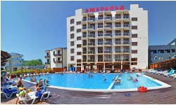 Отель в Анапе с бассейном  для семейного отдыха  хорошее питание все включено