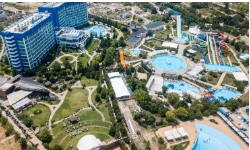 Территория отеля Аквамарин Резорт санаторно-курортный комплекс  5  Крым