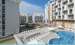 гостиничный комплекс Bridge Resort / Бридж Резорт  4Сочис бассейном