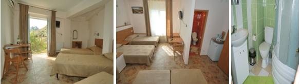 Номера отеля Марат Крым