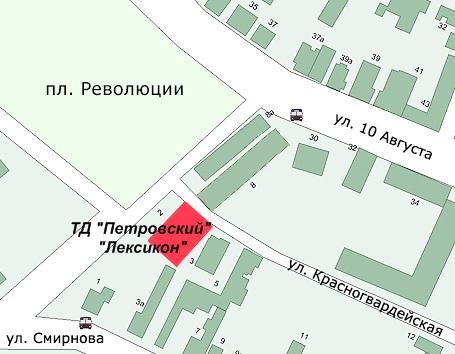 Схема проезда к Учебному Центру