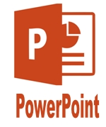 Курсы MS Office PowerPoint и логотип