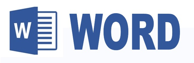 Word обучение, синий логотип