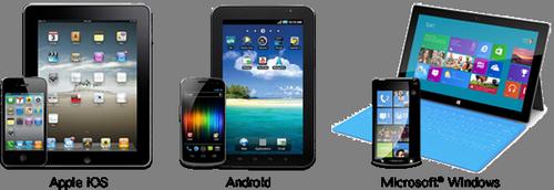 Обучение работе с планшетом и смартфоном на базе Android, iOS, Windows