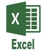 Обучение MS Office Excel, логотип зеленый